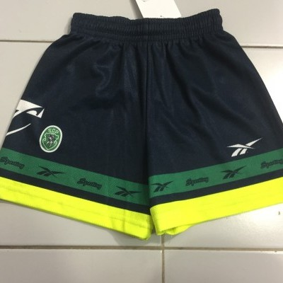 Sporting CP Away Shorts 1999-00 Kids