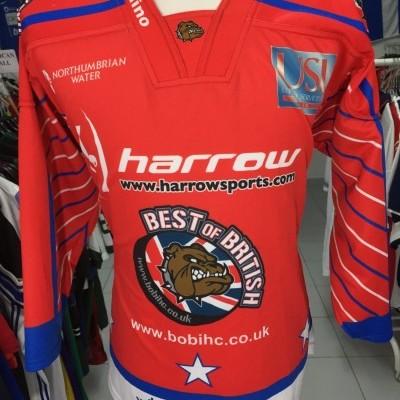 Team Great Britain Ice Hockey Jersey (L)#41 Shirt