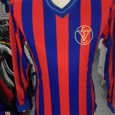 Vintage Vasas FC Home Shirt 80's (M) Hungary