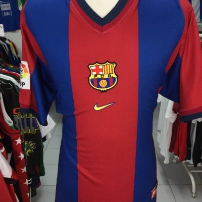 FC Barcelona Home Shirt 1998-00 (XL)