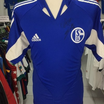 FC Schalke 04 Signed Home Shirt 2004-06 (M) #11