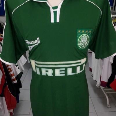 Palmeiras Home Shirt 2000-01 (XL) #9