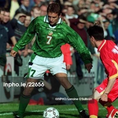 Republic of Ireland Home Shirt 1999 (XL) #7 MATCHWORN