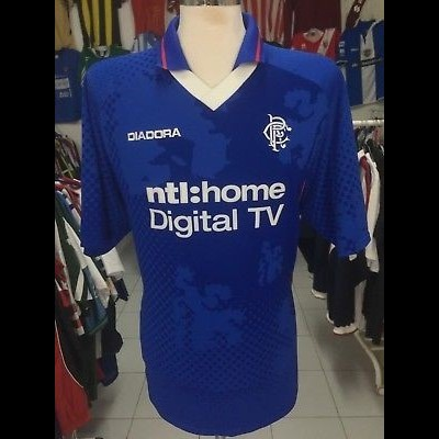 Glasgow Rangers FC Home Shirt 2002-03 (XXL)