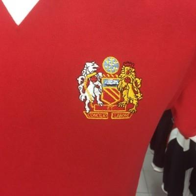 Manchester United Home Shirt 1974-74 (M) Retro