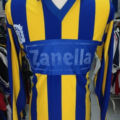Vintage Rosario Central Home Shirt 80s (M) #10 Argentina