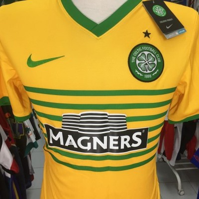 NEW Celtic Glasgow FC Away Shirt 2013-14 (S)