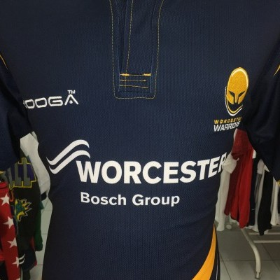 Worcester Warriors Rugby Home Shirt 2014-15 (L)
