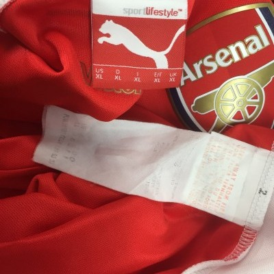 Arsenal FC Home Shirt 2014-15 (XL) #17 Alexis Chile