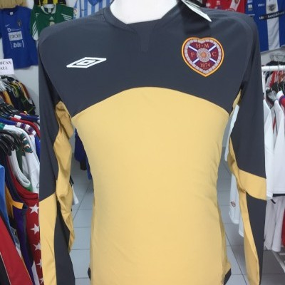 BNWT Heart of Midlothian Hearts Goalkeeper Shirt 2009-10