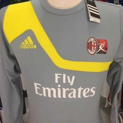 NEW AC Milan Goalkeeper Shirt 2013-14 (Kids) Adidas