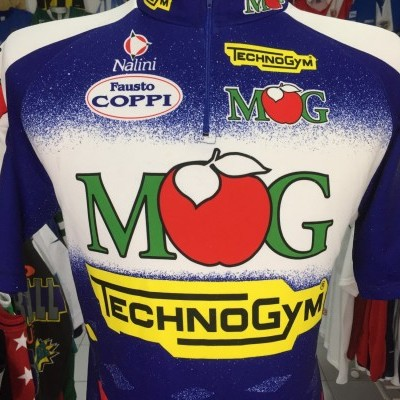 MG Maglificio Technogym Cycling Shirt 1995 (6) Italy Jersey