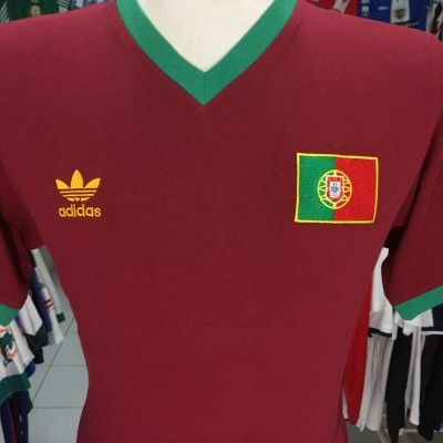 NEW Portugal Retro Shirt 2007 (M) Adidas Originals