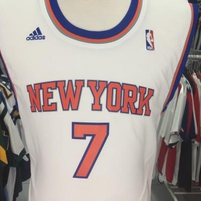 New York Knicks Jersey Shirt (M) #7 Anthony NBA