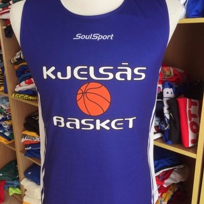 Reversible Kjelsas Basket Basketball Jersey Norway Shirt