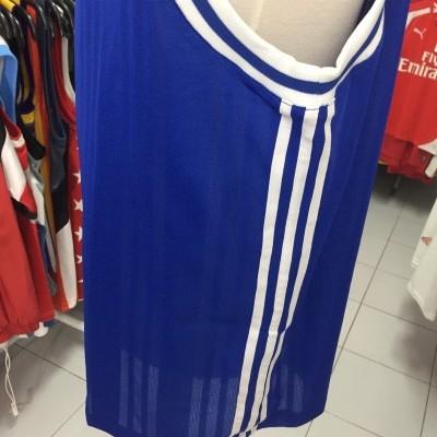 NEW Vintage Adidas Basketball Tank Jersey Men's Blue