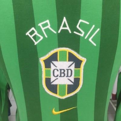 Brazil Shirt 1958 (S) Nike Retro Jersey Brasil