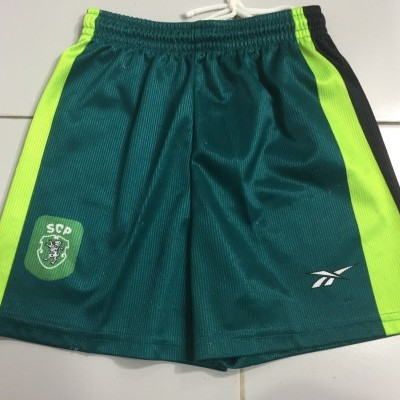 Sporting CP Away Shorts Kids 2000
