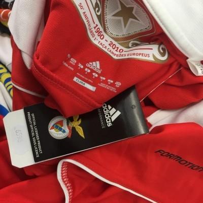 NEW SL Benfica Home Shirt 2010-11 (S) Adidas Formotion