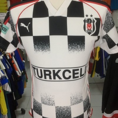 Besiktas Away Shirt 2004-05 (S) Puma