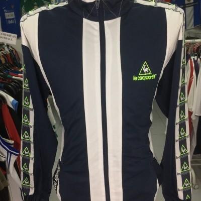 Vintage Track Top Le Coq Sportif (XL) Blue White Jacket