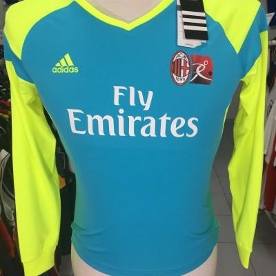 NEW AC Milan Goalkeeper Shirt 2013-14 (Kids) Adidas