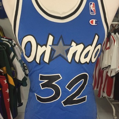 Vintage Orlando Magic #32 O'Neal Jersey (40) NBA Champion Shirt