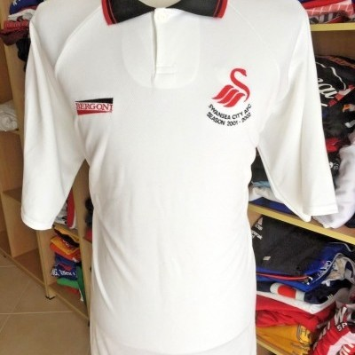 BNWT Swansea City FC Home Shirt 2001/02 (XL) Wales