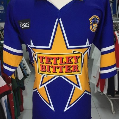 Vintage Leeds Rugby League Shirt 1996 (XL)