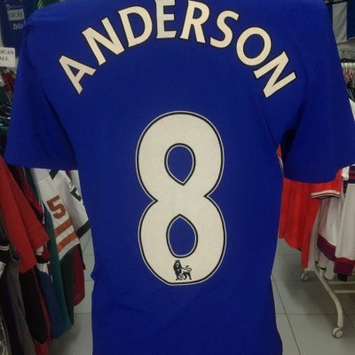 Manchester United Away Shirt 2008-09 (S) #8 Anderson