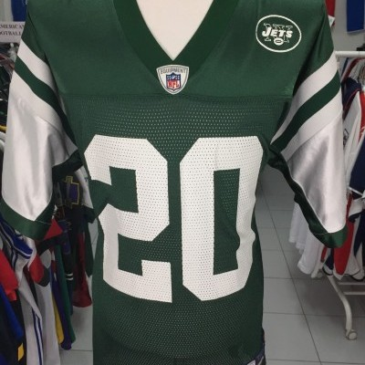New York Jets NFL Shirt (L) #20 Jones Jersey
