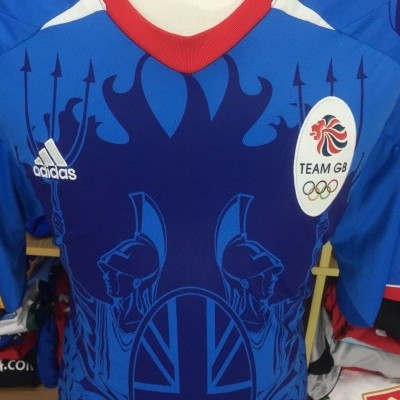 Team GB Great Britain Away Shirt 2012 (2XL) Olympics Games London