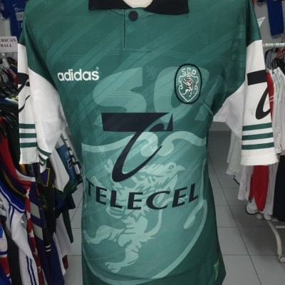 RARE Sporting CP Away Shirt 1996-97 (XL)