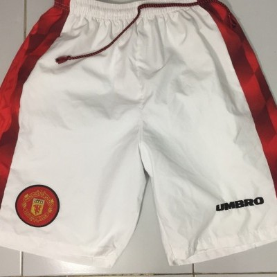 Manchester United Home Shorts 1996-98