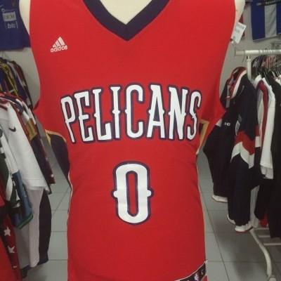 New Orleans Pelicans #0 Cousins Jersey (L) NBA Shirt