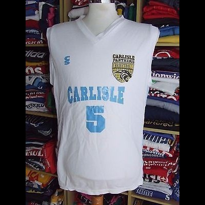 Basketball Shirt Carlisle Panthers (M) England Jersey