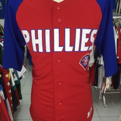 NEW Philadelphia Phillies Baseball Shirt (L) MLB