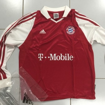 NEW Bayern Munich München Home Shirt 2003-04 Kids