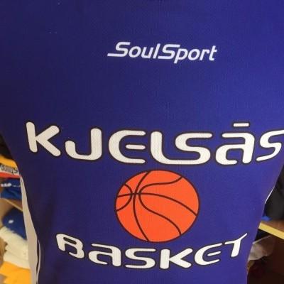 Reversible Kjelsas Basket Basketball Jersey Norway Shirt
