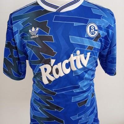 FC Schalke 04 Home Shirt 1992-93 (L) Adidas