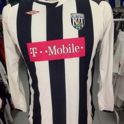 BNWT WBA West Bromwich Albion FC Home Shirt 2006-07 Kids