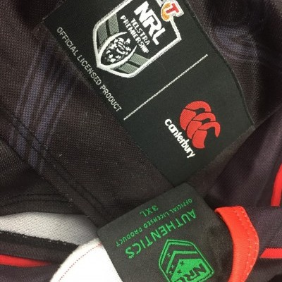 New Zealand Warriors Rugby Home Shirt 2018 (3XL) NRL