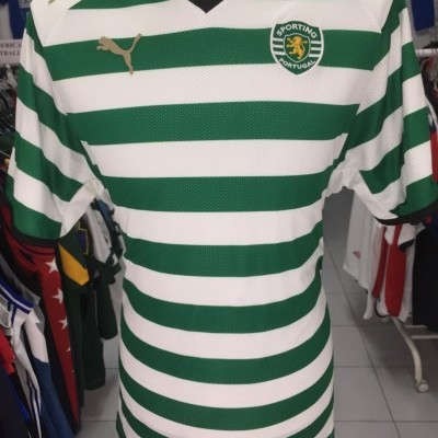 Player Version Sporting CP Home Shirt 2008-09 (XL)