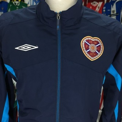 Heart of Midlothian Hearts Track Top Jacket (L)