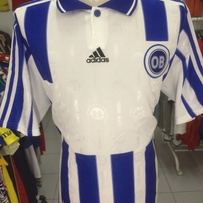 OB Odense Home Shirt 1998-00 (XL) Denmark