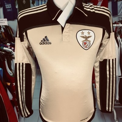 Long Sleeve ISSUE SL Benfica Away Shirt 2011-12 (S) Adidas Formotion
