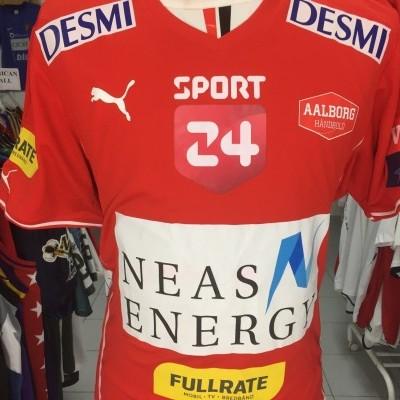 Aalborg Handbold Handball Shirt (XXL) Juul EHF Champions League Denmark