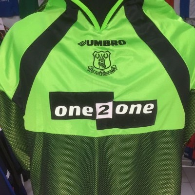 Everton FC Goalkeeper Shirt 1998-99 Kids