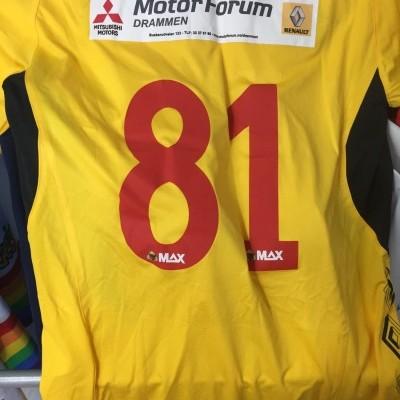 Matchworn Hokksund IL Home Shirt (L) Norway