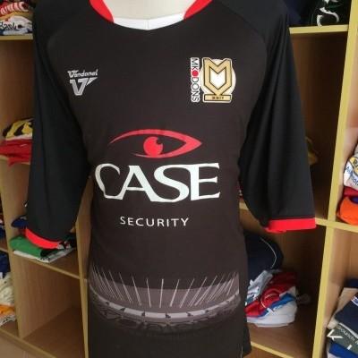 MK Dons FC 3rd Kit Shirt 2012-13 (4XL)